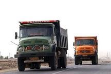 تردد خودرو های سنگین در محورهای خوزستان ممنوع شد