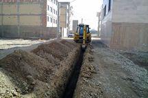 ۹۲۰ متر از شبکه آبرسانی ملکشاهی اصلاح شد