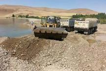 عملیات برداشت شن و ماسه در اراضی البرز متوقف شد