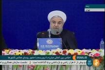 روحانی: تحریمهای اقتصادی ظالمانه و غیرقانونی آمریکا علیه ملت ایران به عنوان شکل بارزی از تروریسم، ملت ما را هدف قرار داده است