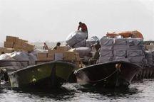 محموله کالای قاچاق در کنگان کشف شد