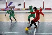 تیم فوتسال شهرداری رشت در لیگ برتر بانوان کشور پیروز شد