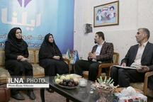 بازدید رئیس سازمان جهاد کشاورزی قزوین از دفتر خبرگزاری ایلنا