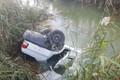 سقوط پراید به کانال آب در مینودشت دو قربانی گرفت
