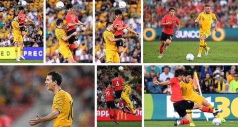 تساوی استرالیا در دقیقه 94 مقابل کره جنوبی +عکـس