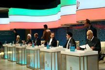 میزان مخاطبان تلویزیون در اولین مناظره ریاست جمهوری