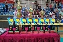 قهرمانی آذربایجانغربی در مسابقات قهرمانی جوانان والیبال کشور