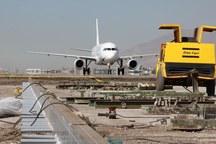 عملیات بهسازی باند پروازی فرودگاه پیام به پایان رسید