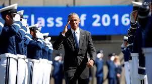 سقوط جنگنده آمریکایی مقابل چشمان اوباما + تصاویر