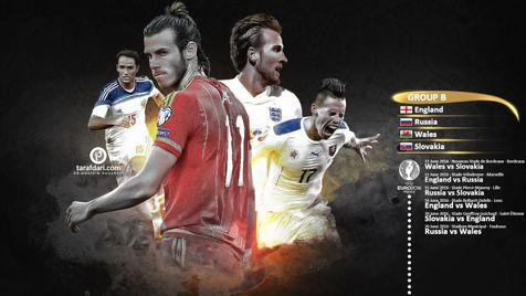 آشنایی با گروه ۲ جام ملت های اروپا؛ همه امید ها به انگلیس