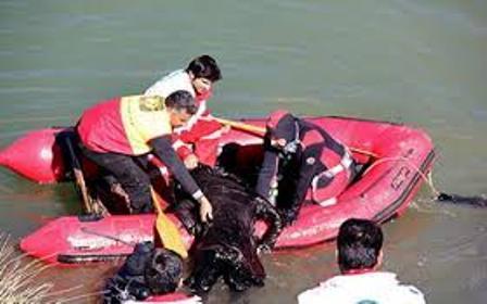 گردشگر خارجی در کلاردشت غرق شد