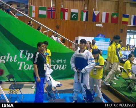 رجبی چهارمین طلایی کاروان ایران دریونیورسیاد ۲۰۱۵