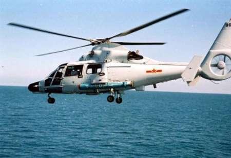 سقوط یک فروند بالگرد در دریای خزر/ ٥ کشته