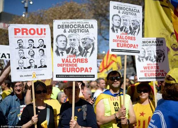 تظاهرات کاتالونیا