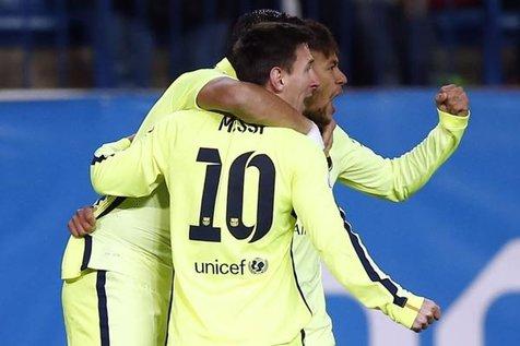 شکست خانگی اتلتیکو مادرید مقابل بارسلونا