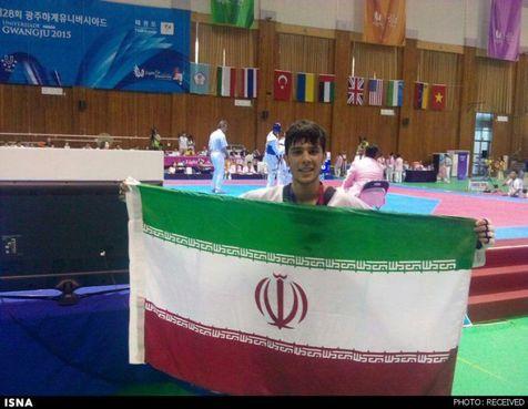 قهرمانی زود هنگام تکواندوکاران ایرانی/ رجبی طلایی شد