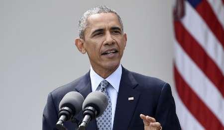 اوباما در سالگرد برجام، توافق هسته ای را پیروزی دیپلماسی خواند
