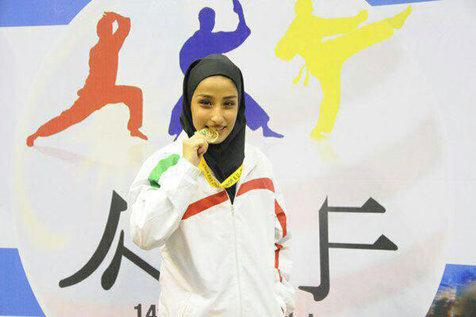 زهره برزگر به نشان طلا دست یافت