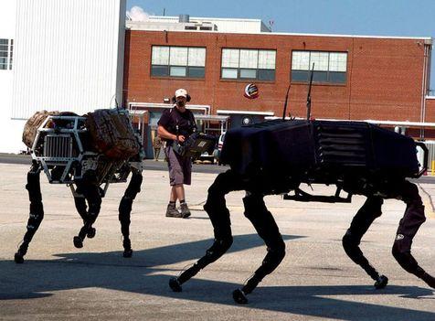 """ربات """"سگی"""" قوی ترین ربات جهان است + فیلم"""