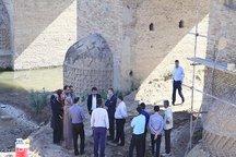 مرمت اضطراری پل تاریخی آق قلا واقع در شمال گلستان
