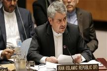 نماینده ایران در سازمان ملل: هیات حاکمه آمریکا از صلاحیت اخلاقی و سیاسی برخوردار نیستند