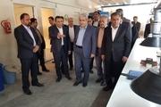 معاون رییس جمهوری از ۲ واحد دانش بنیان در قزوین بازدید کرد