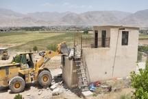 رفع تصرف از بیش از هفت هکتار اراضی ملی در شهرستان ممسنی