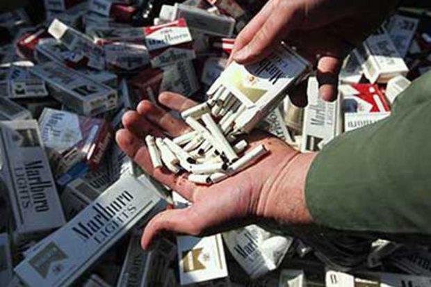 بیش از 38 هزارنخ سیگار قاچاق در ریگان کشف شد