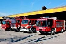 افزایش نیروهای آتش نشانی اردبیل