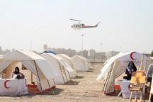 400 تخته چادر از اردبیل به زلزله زدگان کرمانشاه ارسال شد