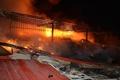 آتش سوزی گسترده کارگاه تولیدی کفش درجاده کندرود