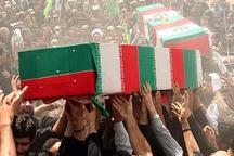 پیکر مطهر 34 شهید گمنام دوران دفاع مقدس در کرمانشاه تشییع می شود