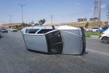لغزندگی بزرگراه در شیراز  ۱۰ خودرو را در هم کوبید