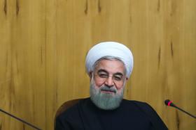 آرزوی موفقیت روحانی برای تیم فوتسال بانوان ایران