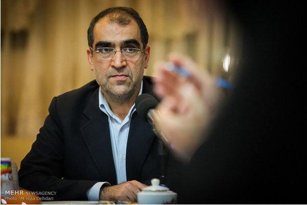 صدور اولین پروانه مطب آنلاین برای وزیر بهداشت