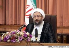 آملی لاریجانی برای روحانی آرزوی موفقیت کرد