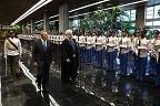 استقبال رسمی رییس جمهوری کوبا از دکتر روحانی