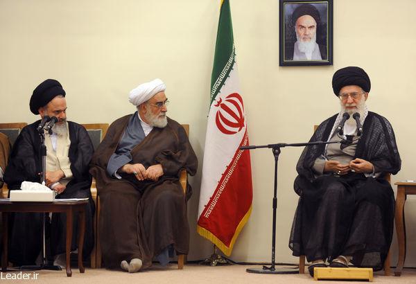 رهبر معظم انقلاب: شوق عمومی به  اعتکاف از مظاهر قدرت انقلاب اسلامی در نهادسازی است