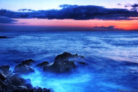 گزارش روز: آیا دریا واقعا آبی رنگ است؟