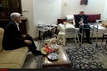 عیادت عارف از اولین وزیر نفت جمهوری اسلامی