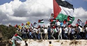تظاهرات فلسطینی ها به مناسبت «روز زمین»