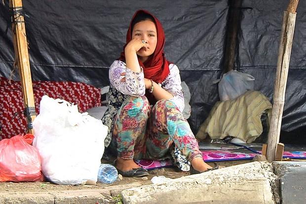 در آرزوی دستگیری به امید پناهندگی
