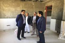 پیشرفت 70 درصدی مرکز جامع سلامت محله غریب آباد ایرانشهر