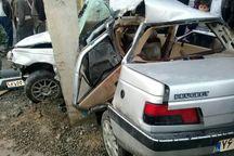 سانحه رانندگی در همدان یک کشته داشت