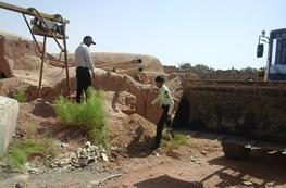 پلمپ ۱۵ حلقه چاه آب غیرمجاز در قلعه گنج