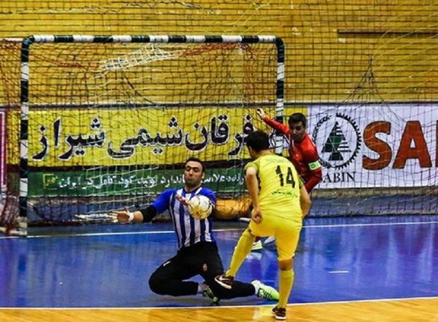 نگاهی به عملکرد تیم های فارس در فوتسال دسته یک کشور