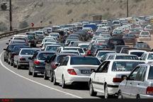 ترافیک سنگین در جادههای چالوس، هراز و سوادکوه  چالوس یک طرفه شد