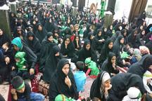 همایش شیرخوارگان حسینی در ایرانشهر برگزار شد