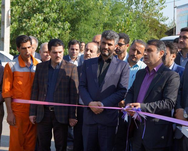 افتتاح 40 پروژه محرومیت زدایی وعمرانی در  صومعه سرا