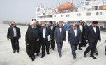 افتتاح مجتمع بندری کاسپین با حضور رئیس جمهور/ ساخت بزرگترین آکواریوم ایران آغاز شد